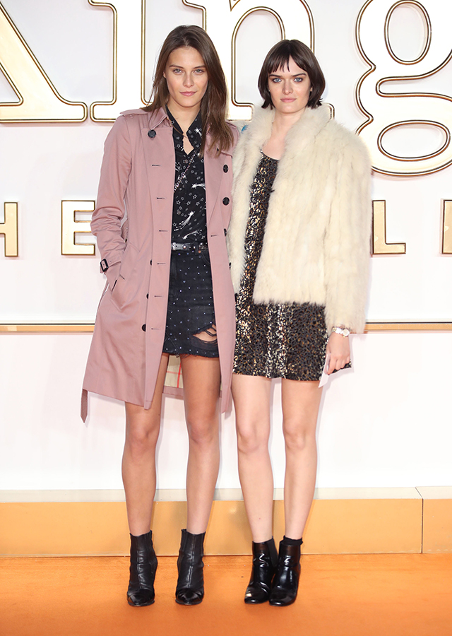 Charlotte Wiggins and Sam Rollinson