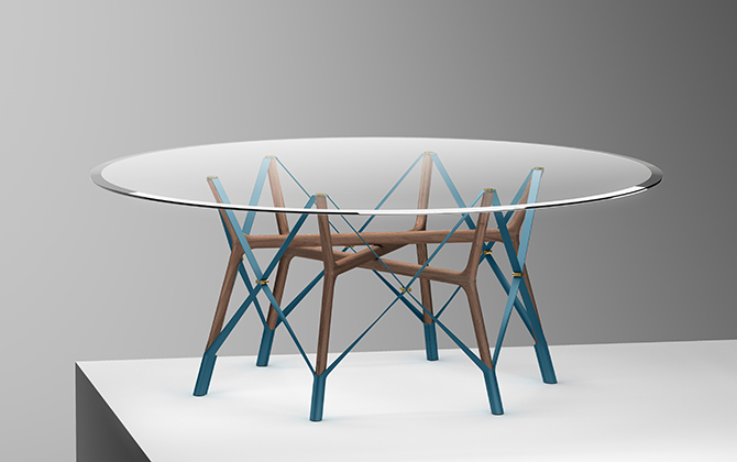 Atelier's Oï's Serpentine Table