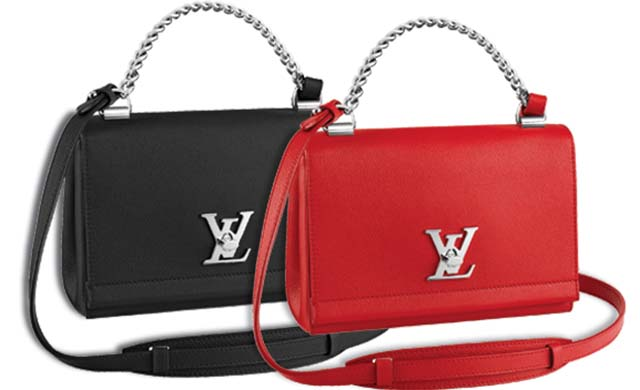 Louis Vuitton Lockme Ii Handbag Leather Bb DvaFTM