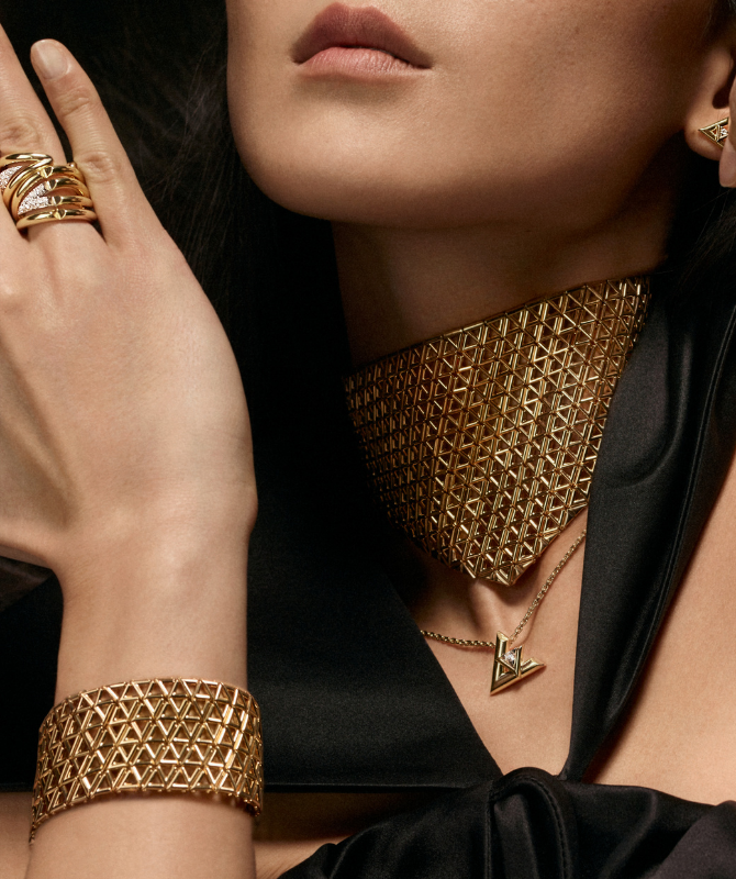 Louis Vuitton's new LV Volt collection promotes genderless jewellery (фото 2)