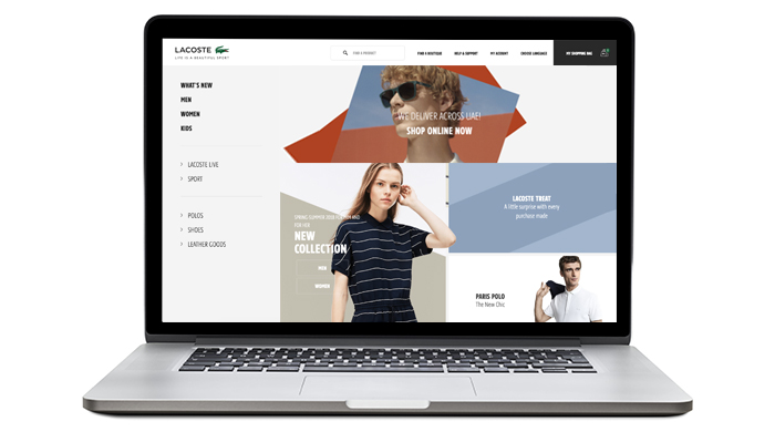 Tech talk: Lacoste launches new e-commerce site in the UAE and Saudi