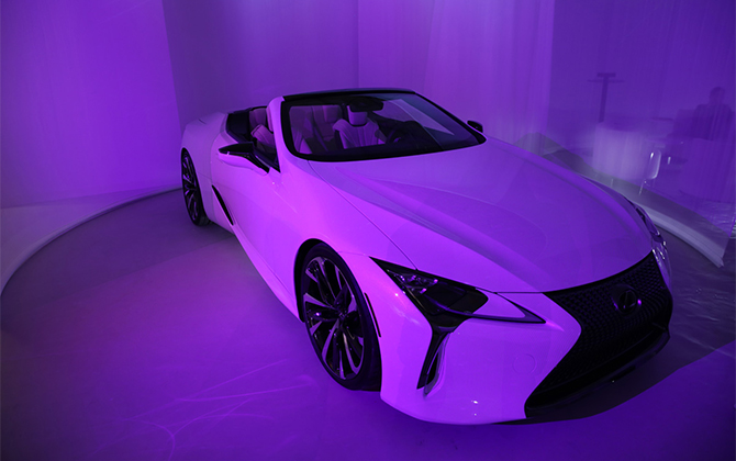 Design Miami's official automative partner Lexus debuts custom installation (фото 3)