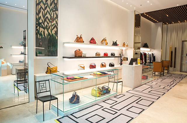 Loewe just opened a new luxury store in The Dubai Mall extension