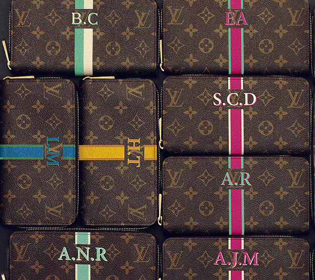 7001b7443f451 Louis Vuitton introduces  Mon Damier Graphite  monogramming to the ...