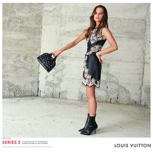 Louis Vuitton taps Jennifer Connelly, Alicia Vikander and Rianne Van Rompaey for AW15