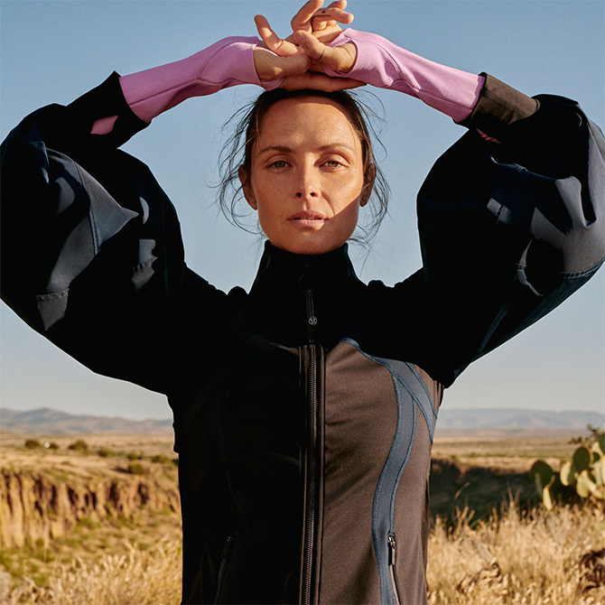 Roksanda Ilincic and Lululemon team up for a 'sweat to street' collaboration (фото 1)
