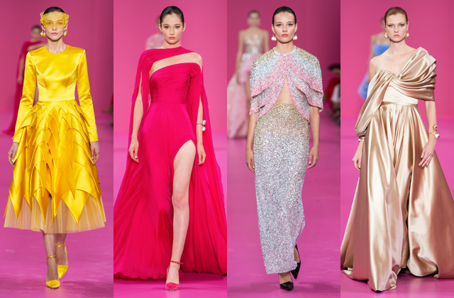 Three Middle Eastern designers stole the spotlight at Paris Haute Couture Fashion Week (фото 1)