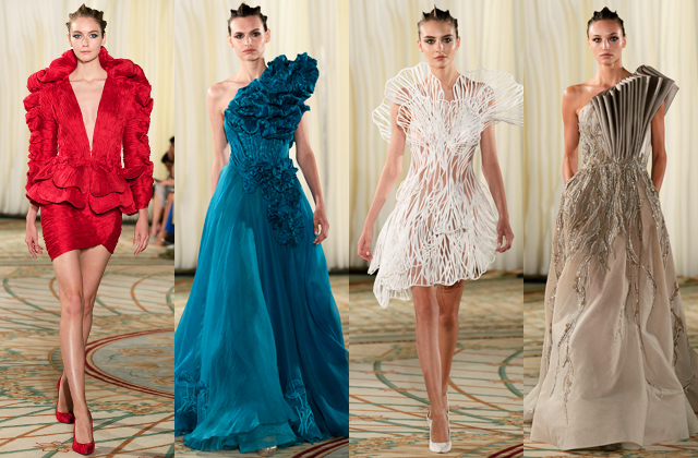 Three Middle Eastern designers stole the spotlight at Paris Haute Couture Fashion Week (фото 3)