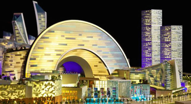 Dubai launches planet's first temperature controlled city - The Mall of the World (фото 3)