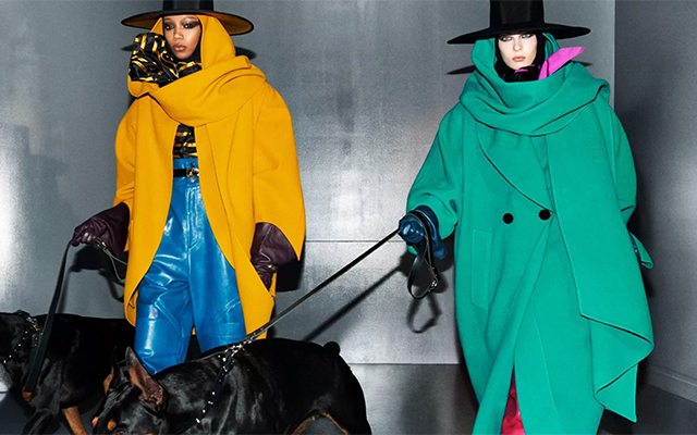 Marc Jacobs' new campaign makes dog-walking look so chic (фото 1)