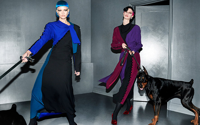 Marc Jacobs' new campaign makes dog-walking look so chic (фото 3)