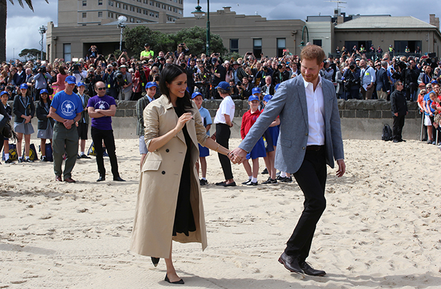 Meghan Markle wears two Australian designers during visit in Melbourne (фото 7)