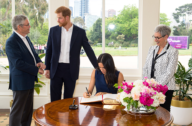 Meghan Markle wears two Australian designers during visit in Melbourne (фото 3)
