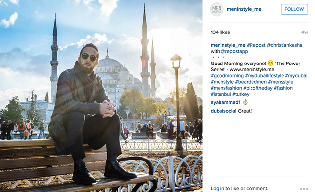 Insta-guy-gram: The top Middle Eastern men to follow (фото 3)