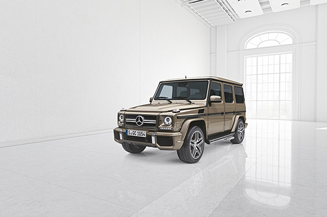 Mercedes-Benz G 63 GCC-only