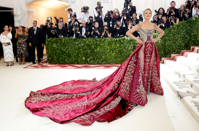 The 2018 Met Gala: Red carpet arrivals (фото 1)