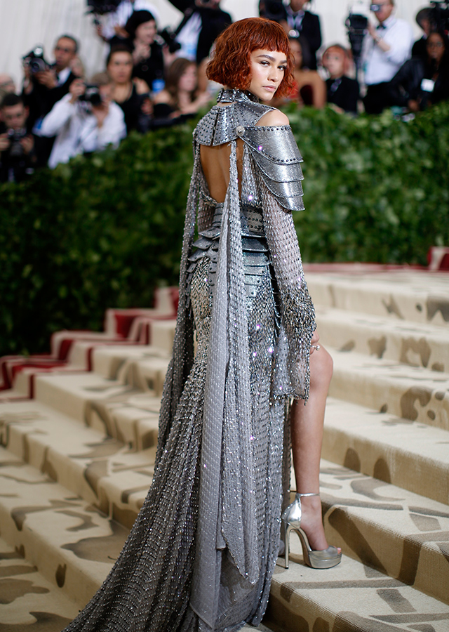 The 2018 Met Gala: Red carpet arrivals (фото 24)