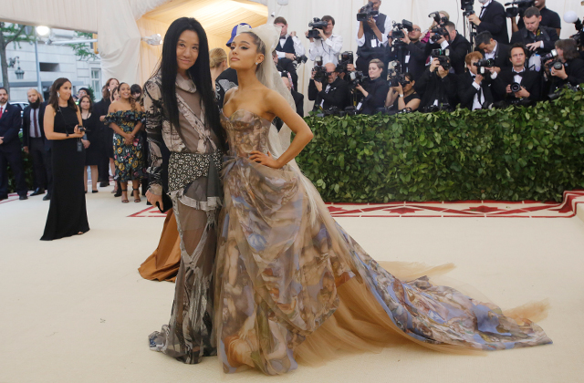 The 2018 Met Gala: Red carpet arrivals (фото 7)