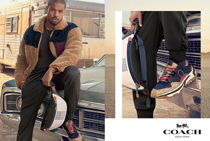 Michael B. Jordan fronts his first campaign for Coach (фото 1)