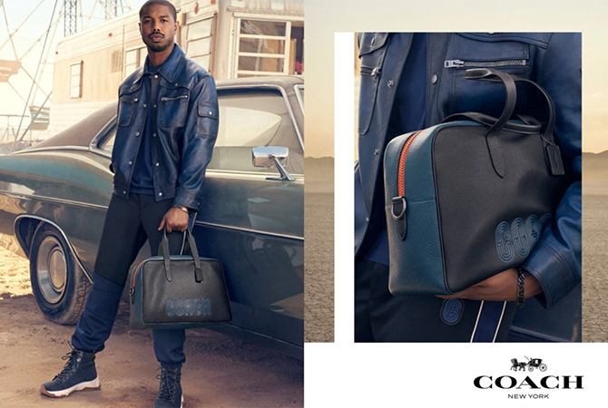 Michael B. Jordan fronts his first campaign for Coach (фото 2)