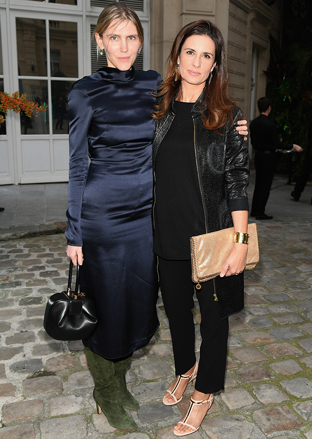 Garbiela Hearst and Livia Firth