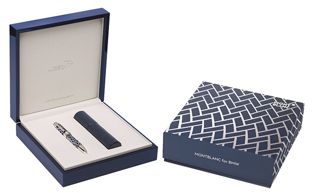 Montblanc for BMW Centennial Fountain Pen with accessory