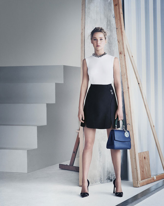More images of Jennifer Lawrence's Be Dior campaign are revealed