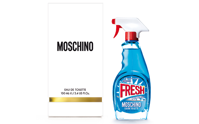 A new note: Moschino's latest eau de toilette