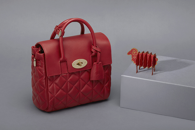 Mulberry unveil limited-edition Cara Delevingne bag for Chinese New Year