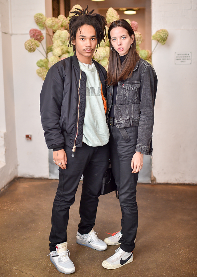 Luka Sabbat and Adriana Mora