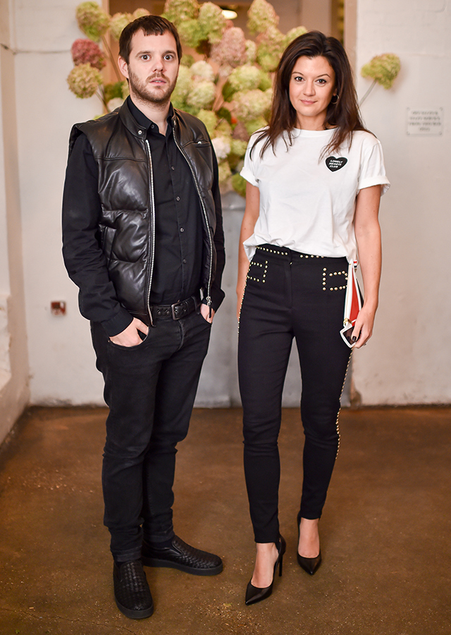 Mike Skinner and Claire Le Marquand