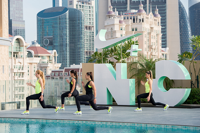 Nike opens the registration for its first ever N+TC tour in Dubai