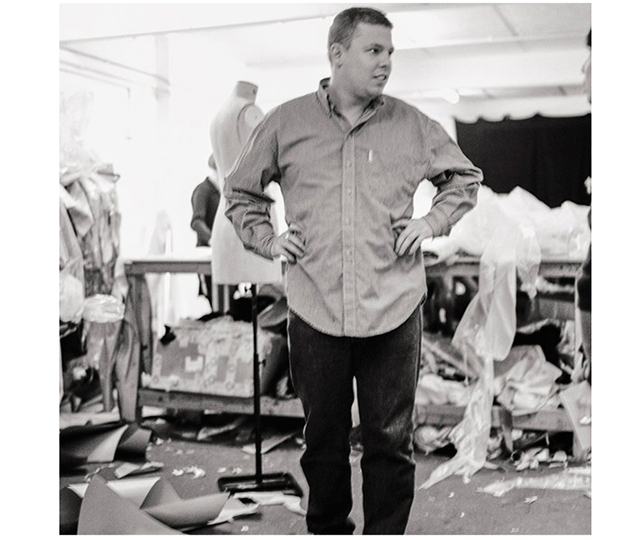 Never before seen archive of Alexander Lee McQueen at work