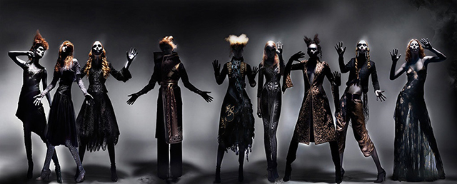 Nick Knight releases never seen before Alexander McQueen image starring Moss and Campbell