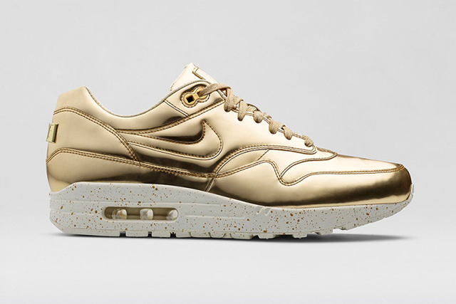 Nike releases special Gold Air Max 1's for the holidays