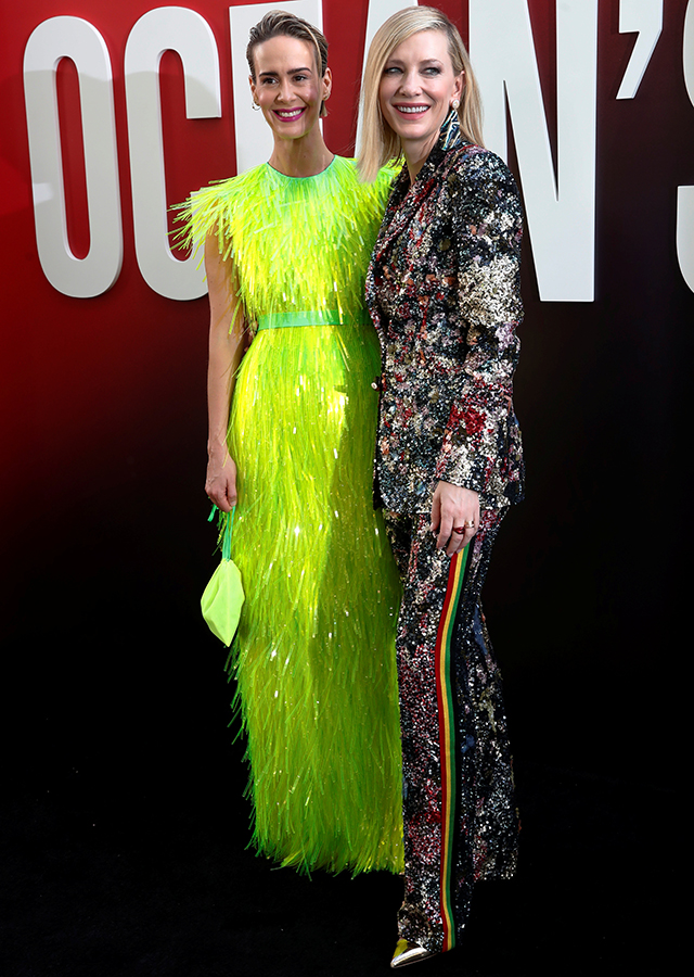 The 'Ocean's 8' world premiere in New York City was a stylish sisterhood affair (фото 6)