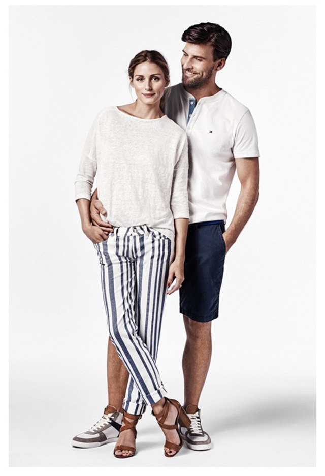 OLIVIA PALERMO PARTNERS WITH TOMMY HILFIGER