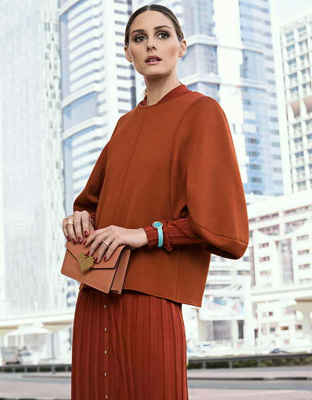 Olivia Palermo's new campaign for Piaget was shot in Dubai (фото 2)