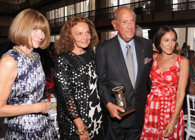 Oscar de la Renta is honoured in New York City