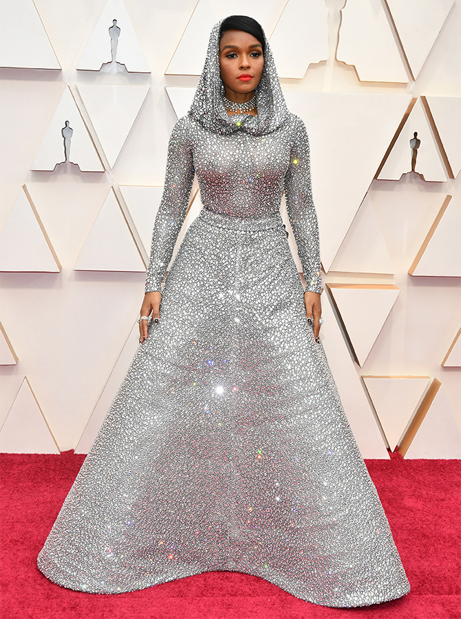 Janelle Monae in custom Ralph Lauren