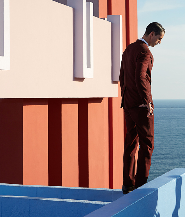 Matthew Goode from Tom Ford's 'A Single Man' fronts Pal Zileri's ad campaign