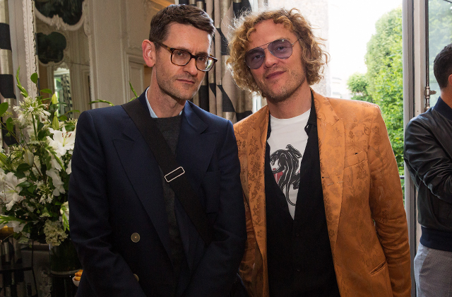 Mark Holgate and Peter Dundas