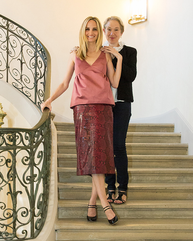 Lauren Santo Doming and guest