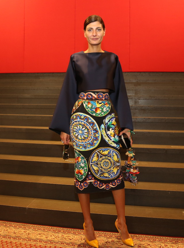 Milan Fashion Week: Dolce & Gabbana Front Row (фото 4)