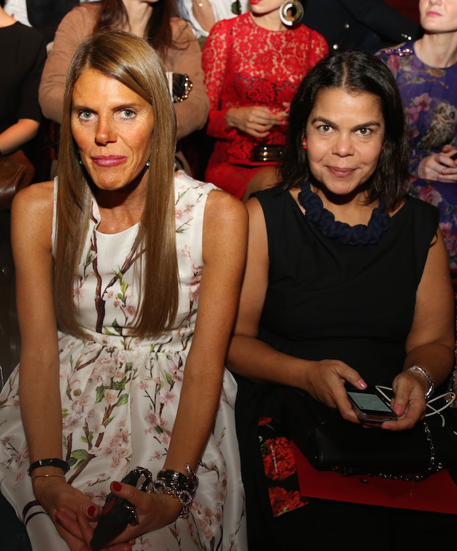 Milan Fashion Week: Dolce & Gabbana Front Row (фото 9)
