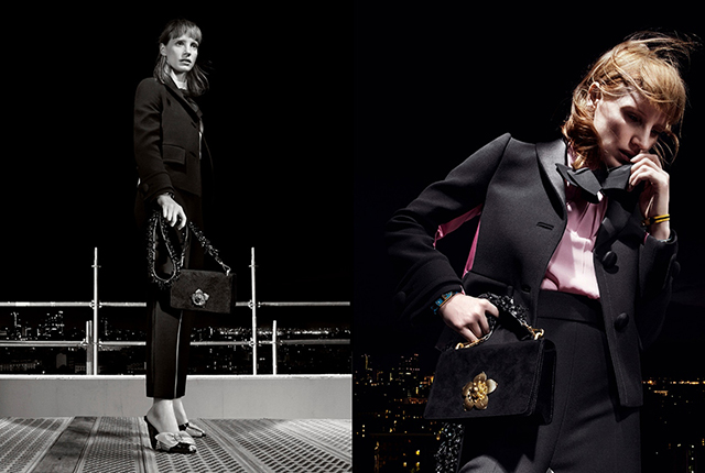 First look: Jessica Chastain stars in Prada's new campaign