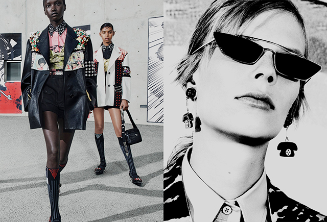 Part two: Prada's Spring/Summer '18 campaign (фото 4)