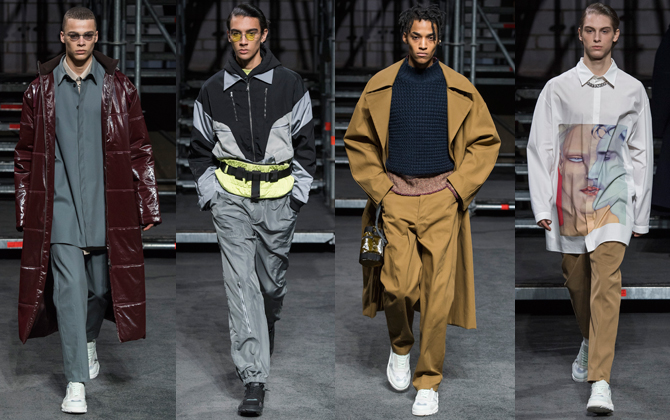 Men's London Fashion Week F/W'19: Qasimi and Chalayan (фото 1)