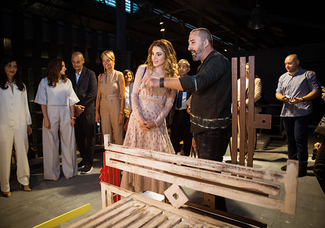 Inside Amman Design Week with Queen Rania (фото 3)