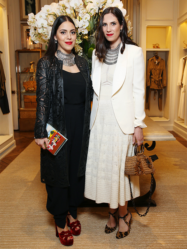 Dana Alikhani and Tatiana Casiraghi